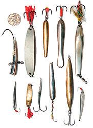 Зимние блесны для ловли судака